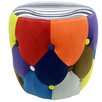 House Additions Circus Drum Footstool