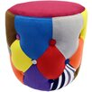 House Additions Crazy Drum Footstool