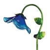 House Additions Solar Bell Flower Garden Stake