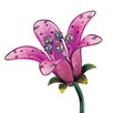 House Additions Solar Tiger Lily Garden Stake