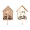 House Additions Memory Lane 2 Piece Wall Hook Set