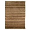 House Additions Handgeknüpfter Teppich in Weizenbraun