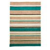 House Additions Infinite Inspire Hand-Tufted Blue Area Rug