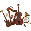 House Additions Music Instruments Wall Décor