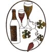 House Additions Oval Grapes/Wine Original Painting Plaque