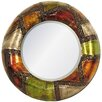 House Additions Metal Wall Art Patchwork Mirror