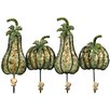 House Additions Vegetables Wall Mounted Coat Rack