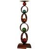 House Additions Kerzenhalter Art Circle aus Metall