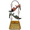 House Additions Schild High Heels Handbag, Kunstdruck