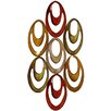 House Additions Abstract Ovals Wall Décor