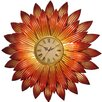 House Additions Wanduhr Flower XXL 82,5 cm