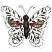 House Additions Schild Butterfly, Kunstdruck