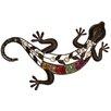 House Additions Schild Gecko, Kunstdruck