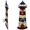 House Additions Schild Lighthouse, Kunstdruck