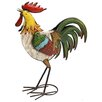 House Additions Metal Art Rooster Statue