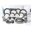 House Additions Porcelain 32 Piece Dinnerware Set