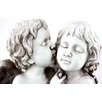 House Additions Statue Kissing Angels
