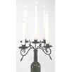House Additions C Wine Bottle Iron Candelabra
