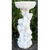 House Additions Stone Effect 3 Cherub Jardiniere or Bird Bath