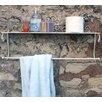 House Additions Wandmontierte 69 cm Handtuchstange Scroll
