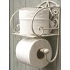 House Additions Wandmontierter Toilettenpapierhalter