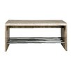 House Additions Wood/Metal Kitchen Bench