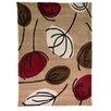 House Additions Handgetufteter Teppich Ciampa in Braun