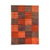 House Additions Handgetufteter Designteppich Ciampa in Rot