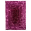 House Additions Ridge Handmade Purple Area Rug
