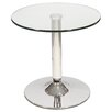 House Additions Signature Bistro Lamp Table in Chrome