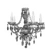 House Additions Princess 5 Light Chandelier