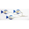 House Additions Manuae Fish on Rope Wall Décor (Set of 3)