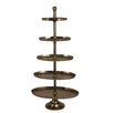 House Additions Fabregas 170cm 5 Tiered Stand in Antique Bronze