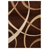 House Additions Brown/Dark Beige Area Rug