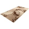 House Additions Teppich Oise in Braun/Creme