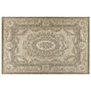 House Additions Annecy Louvre 3 Dark Beige Area Rug