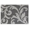 House Additions Anglet Dark Grey/Light Grey Area Rug