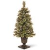 House Additions Sparkling 122cm Green Pine Christmas Tree with Frosted Branches