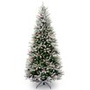 House Additions Frosted Winfield Fir Tree