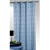 House Additions Flocking Single Curtain Panel