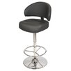 House Additions Casino Swivel Adjustable Bar Stool