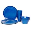House Additions 16 Piece Dinnerware Set