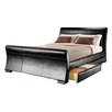 House Additions Croft Upholstered Storage Sleigh Bed