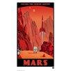 House Additions Retro Futurism Mars Vintage Advertisement