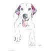 House Additions Wandbild Labrador Kunstdruck
