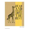 House Additions Poster Trinkets and Trumpets Head and Shoulders, Grafikdruck
