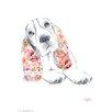House Additions Wandbild Dog Prints Basset Hound Kunstdruck
