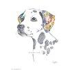 House Additions Wandbild Dalmatian Kunstdruck