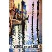 House Additions Poster Vintage Travel Venice, Retro-Werbung