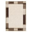 House Additions Teppich in Beige-Braun